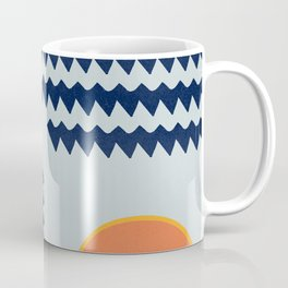 Enigmatic design with  the sun  Coffee Mug