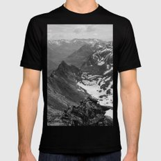 Archangel Valley LARGE Black Mens Fitted Tee