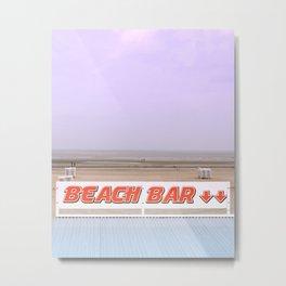Rendez-Vous To The Beach Bar Metal Print