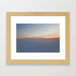 White Sands, NM Framed Art Print