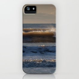 Surf at Rhossili Bay iPhone Case