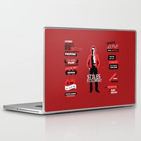stiles stilinski Laptop & iPad Skins featuring Stiles Stilinski Quotes Teen Wolf by Alice Wieckowska