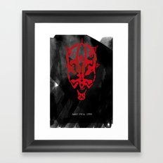 The Phantom Menace Framed Art Print