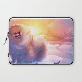 Tiny Dog, Big Spirit Laptop Sleeve