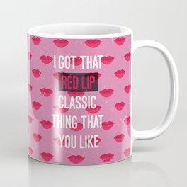 Red Lip Classic Coffee Mug