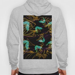 Corals and Crustaceans Burst Hoody