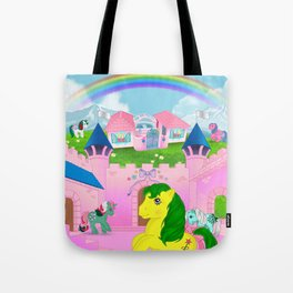 g1 my little pony dreamvalley Tote Bag