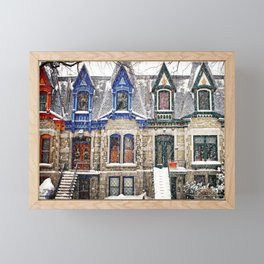 The Enchanting Winter Framed Mini Art Print