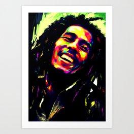 The Reggae Legend Art Print
