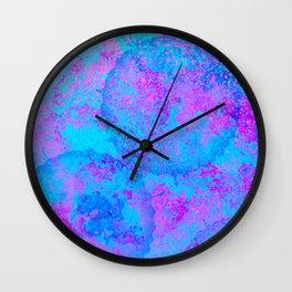 Spray Wall Clock