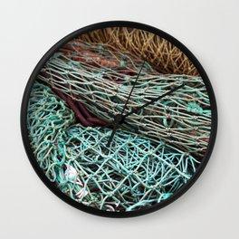FISHING NET Wall Clock
