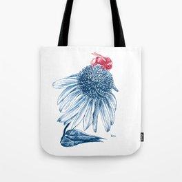 Bumblebee on Echinacea Tote Bag