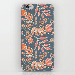 Loquacious Floral iPhone Skin