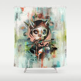 Creative Cumunication Shower Curtain