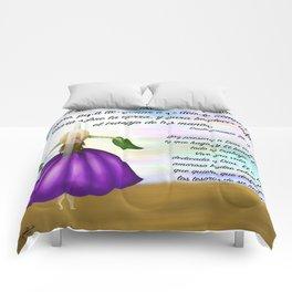 Flor del cielo - Deuteronomio 28, 12 Comforters