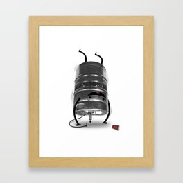 Keg Stand! Framed Art Print