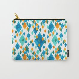 Topsy Turvy Turquoise Carry-All Pouch