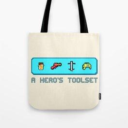 A Hero's Toolset Tote Bag