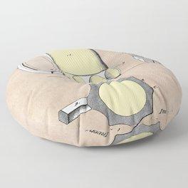 patent Beer Mugs Floor Pillow
