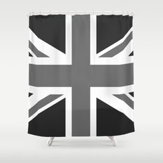 Union Jack Authentic scale 3:5 Version  (High Quality) Shower Curtain