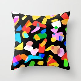 so many shapes Throw Pillow