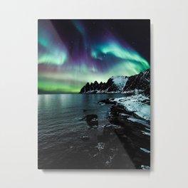Aurora Magic Metal Print