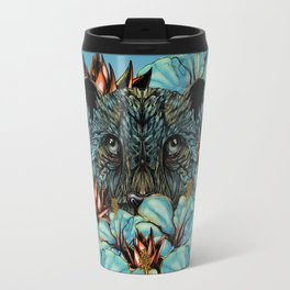 The Tiger and the Flower Travel Mug