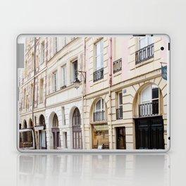 Left Bank Pink on Rue Saint-Jacques Laptop & iPad Skin