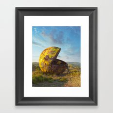 Pac-man Framed Art Print