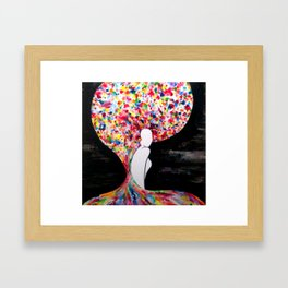 Intersectionality Framed Art Print
