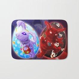 Easter - Angelic VS Evil Bath Mat