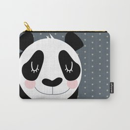 Panda - B/W Carry-All Pouch