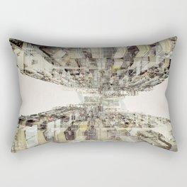 Hong Kong Apartments #2 Rectangular Pillow