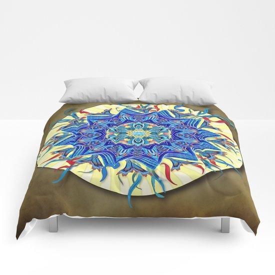 Smiling Mandala Comforters