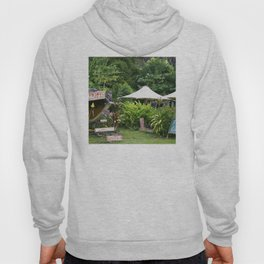 Fruit Stand in Tropical French Polynesia Hoody