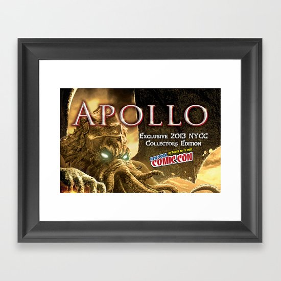 Apollo - NYCC 2013 Exclusive Framed Art Print