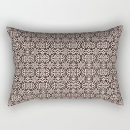 Pale Dogwood Floral Rectangular Pillow