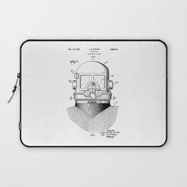 patent art Browne 1945 Diving suit Laptop Sleeve