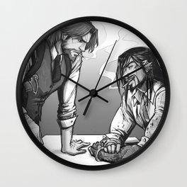 Cops & Crooks Wall Clock