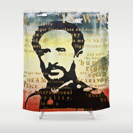 Haile Selassie War Shower Curtain