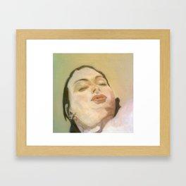 Is She Asleep ? Framed Art Print
