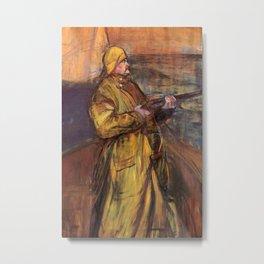Henri de Toulouse-Lautrec - Maurice Joyant in der Somme-Bucht Metal Print