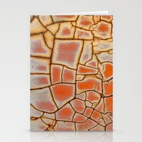 cracked Stationery Cards featuring Cracked by Kathy Dewar