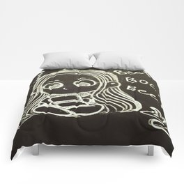 Cute Gamer Girl Comforters