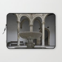 Spanish Patio with Moorish Fountain Laptop Sleeve