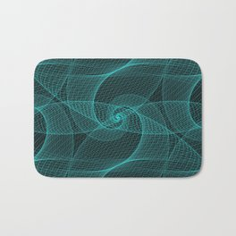 The Great Spiraling Unknown Bath Mat