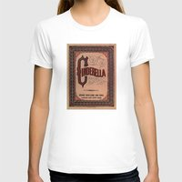 book cover T-shirts featuring Cinderella Book Cover by proudcow