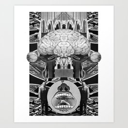 Novo Uomo Art Print