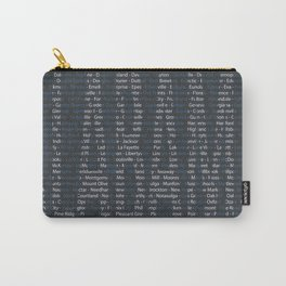Alabama and All Her Cities Carry-All Pouch