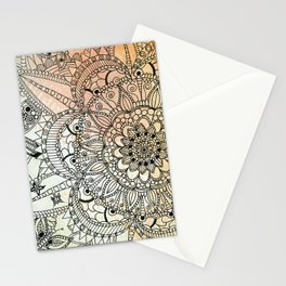 Butterfly Mandala Stationery Cards
